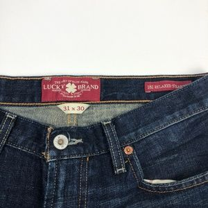 Lucky Brand Jeans - Lucky Brand 181 Relaxed Straight Jean